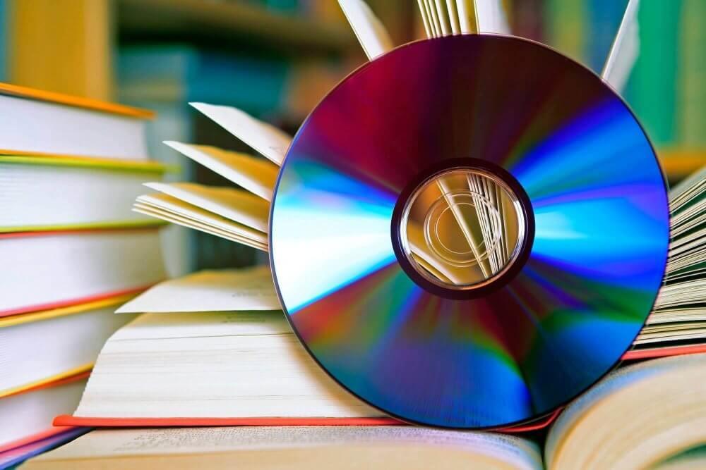 CD und Bücher